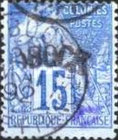 """[French Colonies - General Issues Overprinted """"OBOCK"""" - Curved, type A5]"""