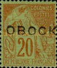 [French Colonies - General Issues Handstamped