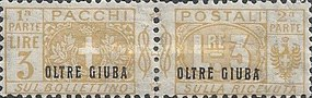 [Italian Parcel Post Stamps Overprinted