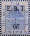[Not Issued Orange Free State Postage Stamp Surcharged & Overprinted