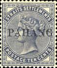 [Straits Settlements Postage Stamps Overprinted
