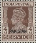 [King George VI - India Service Stamps Overprinted