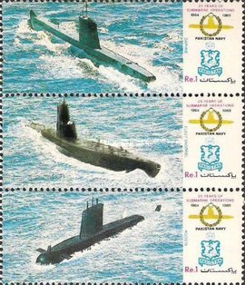 [The 25th Anniversary of Pakistan Navy Submarine Operations, Typ ]