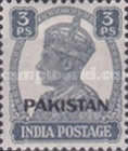 """[India Postage Stamps Overprinted """"PAKISTAN"""" in Small, type A]"""
