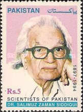 [Scientists of Pakistan - The 5th Anniversary of the Death of Salimuzzaman Siddiqui, 1897-1994, type AFR]