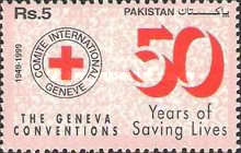 [The 50th Anniversary of Geneva Conventions, type AFW]