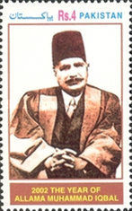 [The 125th Anniversary of the Birth of Muhammad Iqbal, 1877-1938, Typ AJS]