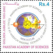 [The 50th Anniversary of Pakistan Academy of Sciences, type AJX]
