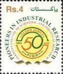 [The 50th Anniversary of Pakistan Council of Scientific and Industrial Research or PCSIR, type AJZ]