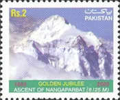 [The 50th Anniversary of First Ascent of Nanga Parbat, type AKO]