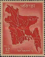 [Map of East Pakistan, Typ AM2]