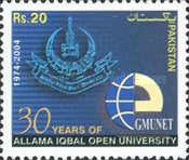 [The 30th Anniversary of Allama Iqbal Open University, Typ ANK]