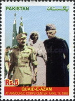 [Muhammed Ali Jinnah Visits the Armoured Corps Center, type AOX]