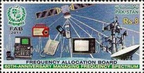[The 60th Anniversary of the Frequency Allocation Board, type AST]