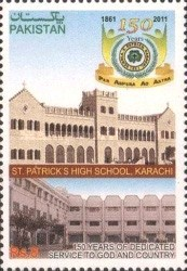 [The 150th Anniversary of St Patrick's High School, Karachi, type ATD]