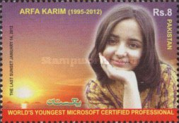 [Arfa Karim - World's Youngest Certified Microsoft Professional, type ATF]