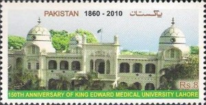 [The 150th Anniversary of kind Edward Medical University, Lahore, type AUF]