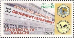 [The 60th Anniversary of the Department of Geography at the University of Karachi, type AUR]