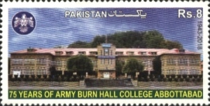 [The  75th anniversary of the Army Burn Hall College, Abbottabad, Typ AZP]