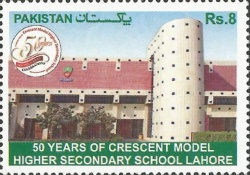 [The 50th Anniversary of the Crescent Model Higher Secondary School, Lahore, Typ BAU]