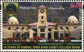 [The 10th Anniversary of the Karnal Sher Khan Cadet College - Swabi City, Pakistan, type BBW]