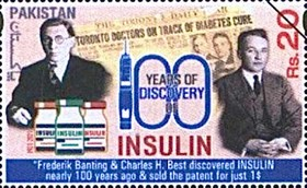 [The 100th Anniversary of the Discovery of Insulin, type BCA]