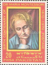 [The 100th Anniversary of the Birth of Dr. Maria Montessori, 1870-1952, Typ GG]