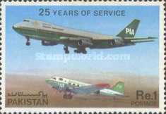 [The 25th Anniversary of Pakistan International Air Lines or PIA, Typ NF]