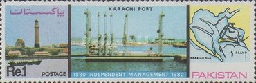 [The 100th Anniversary of Karachi Port Management, Typ NL]