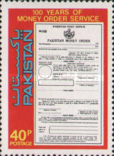 [The 100th Anniversary of Money Order Service, Typ NX]