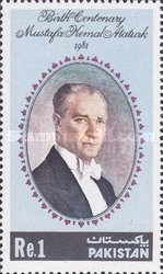 [The 100th Anniversary of the Birth of Kemal Ataturk, 1881-1938, Typ OH]