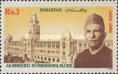 [The 100th Anniversary of the Birth of Jamshed Nusserwanjee Mehta, 1886-1952, Typ UP]