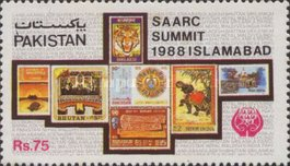 [The 4th Summit Meeting of South Asian Association for Regional Co-operation, lslamabad, Typ VI]