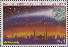 [Pakistan's First Experimental Space Satellite, BADR-1, Typ WS]