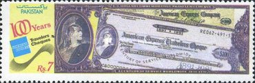 [The 100th Anniversary of American Express Travellers Cheques, Typ YX]