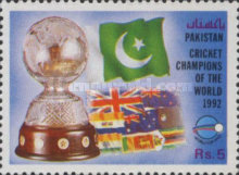 [Pakistan's Victory in World Cricket Cup, Typ ZH]