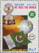 [Pakistan's Victory in World Cricket Cup, Typ ZI]