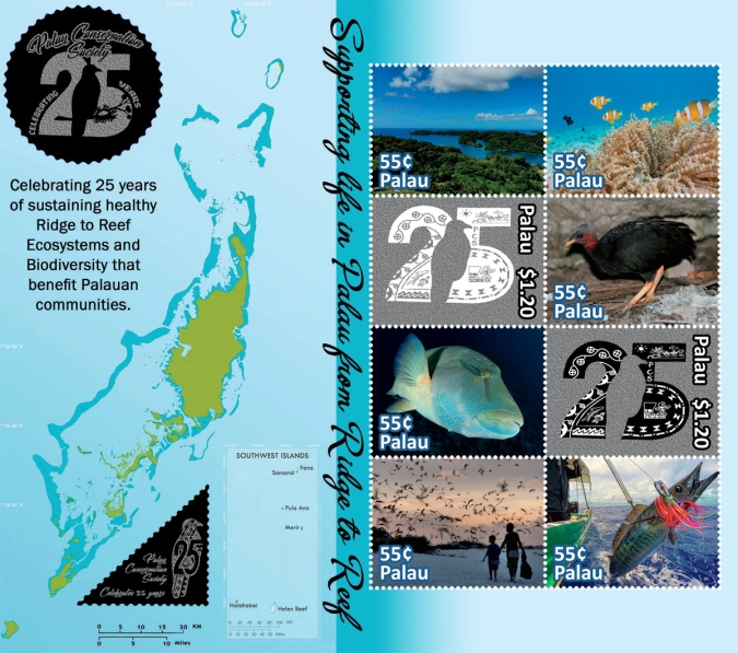 [The 25th Anniversary of the Palau Conservation Society, type ]