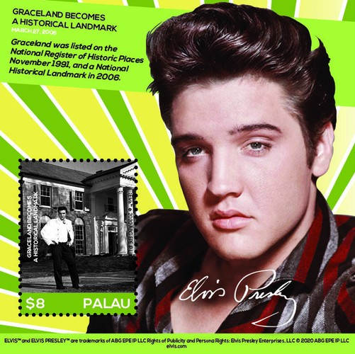 [Elvis' Life in Stamps, type ]