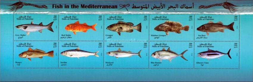 [EUROMED Issue - Fishes in the Mediterranean Sea, Typ ]