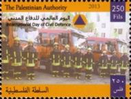 [International Day of Civil Defence, type HF]
