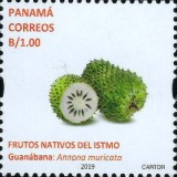 [Definitives - Native Fruits of Panama, type AXN1]