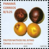 [Definitives - Native Fruits of Panama, type AXR]