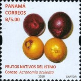 [Definitives - Native Fruits of Panama, type AXR1]