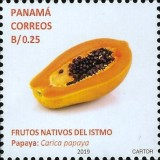 [Definitives - Native Fruits of Panama, type AXT]