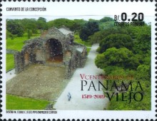 [The 500th Anniversary of Panama City, Typ AXV]