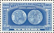 [Airmail - The 50th Anniversary of Panama Republic, type GH]