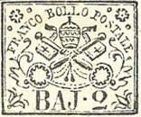[Coat of Arms - Black Print on Colored Paper, type C]