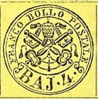 [Coat of Arms - Black Print on Colored Paper, Typ E]