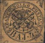 [Coat of Arms - Black Print on Colored Paper, Typ E3]